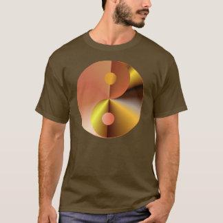 Faux Gold Yin Yang T-Shirt