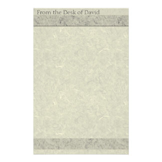 Faux Handmade Paper Old Fashioned Stationery