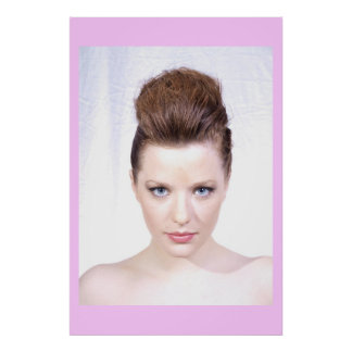 Faux Hawk Beauty Poster