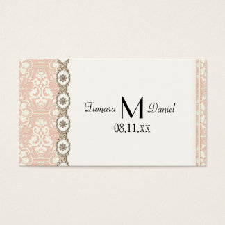 Faux Lace Champagne Gold n Jewels Elegant Invite