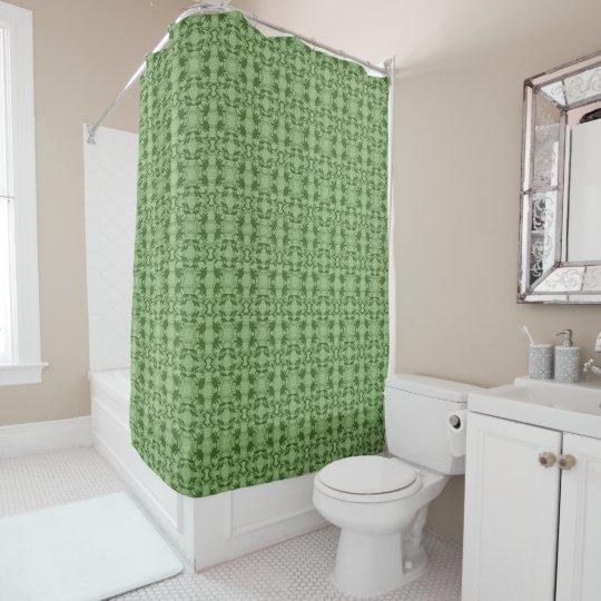 Faux Lace Green Pattern