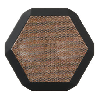 Faux Leather Natural Brown Black Bluetooth Speaker