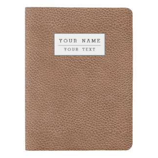 Faux Leather Natural Brown Extra Large Moleskine Notebook