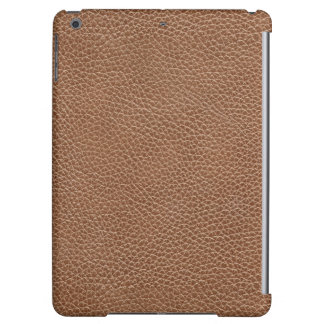 Faux Leather Natural Brown iPad Air Cover
