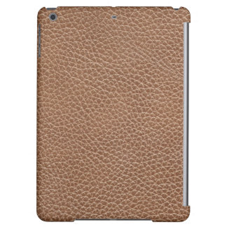 Faux Leather Natural Brown iPad Air Covers