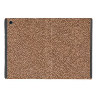 Faux Leather Natural Brown iPad Mini Cover