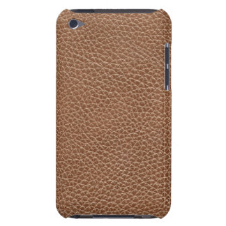 Faux Leather Natural Brown iPod Case-Mate Cases