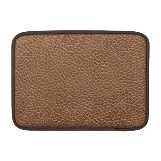 Faux Leather Natural Brown Sleeve For MacBook Air