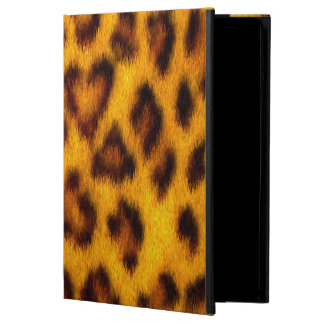 Faux leopard fur iPad Air case