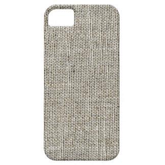 Faux Linen Fabric iPhone Case