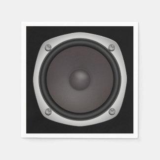 Faux Loudspeaker Disposable Napkins