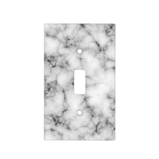 Faux Marble Light Switch Cover