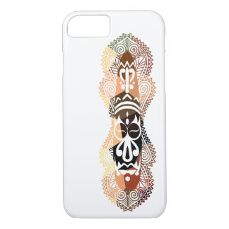 Faux Mosaic African Style Mask iPhone Case 2
