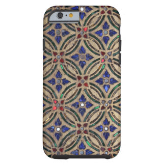 Faux mosaic tile pattern stone glass photo Morocco Tough iPhone 6 Case