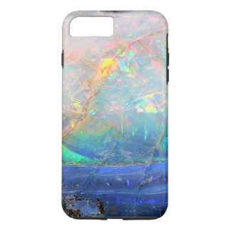 Faux opal gem gemstone mineral bling bokeh hipster iPhone 8 plus/7 plus case