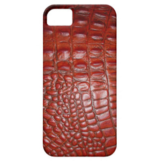 Faux orange Alligator Skin hide pattern iphone5 iPhone 5 Covers