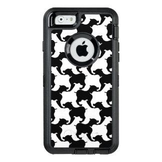 Faux pied-de-poule with Dogs fashion Iphone Case 1