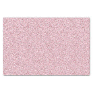 Faux Pink Glitter Tissue Paper