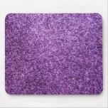 Faux Purple Glitter
