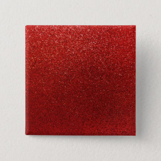 Faux Red Burgundy Glitter Background Sparkle 2 Inch Square Button