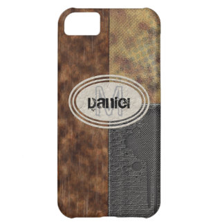 Faux Rough Industrial Grunge Mens Masculine Indy iPhone 5C Cover