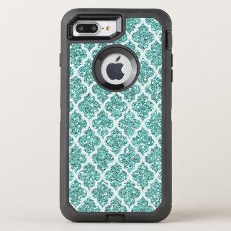 Faux seafoam glitter iPhone 7 plus case