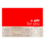 Faux Sequins Hair Salon Holiday Gift Certificate