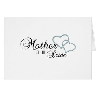 Faux Show Mother of the Bride Card