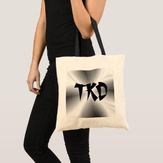 Faux Silver TKD Tote Bag