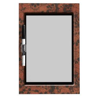 Faux Skull Frame Dry Erase Board