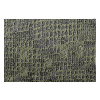 Faux Snake Skin Placemat