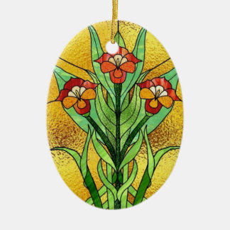 Faux Stained Glass fun ornament