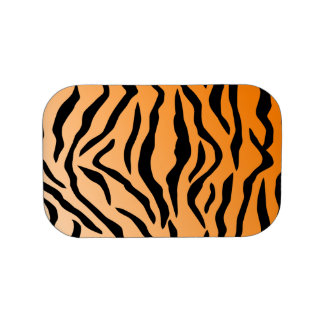 Faux Tiger Print Lunchboxes