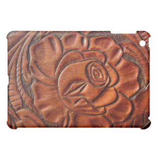 Faux Tooled Leather  Cover For The iPad Mini