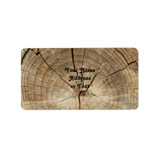 Faux Tree Rings Background