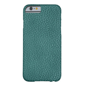 Faux Turquoise Leather Barely There iPhone 6 Case