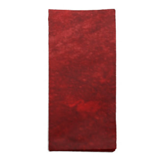 Faux Velvet Christmas Holiday Napkin