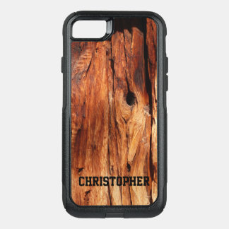 Faux Weather Wood OtterBox Commuter iPhone 7 OtterBox Commuter iPhone 7 Case