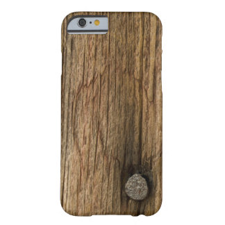 Faux Weathered Barn Wood Barely There iPhone 6 Case