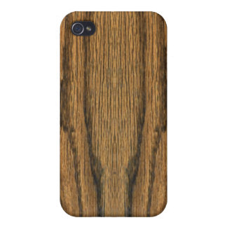 Faux Weathered Wood  Cases For iPhone 4