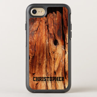 Faux Weathered Wood OtterBox Symmetry iPhone 7