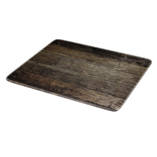 Faux Wood - Glass Cutting Board