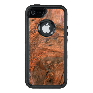 Faux wood grain iPhone SE 5/5s otterbox case