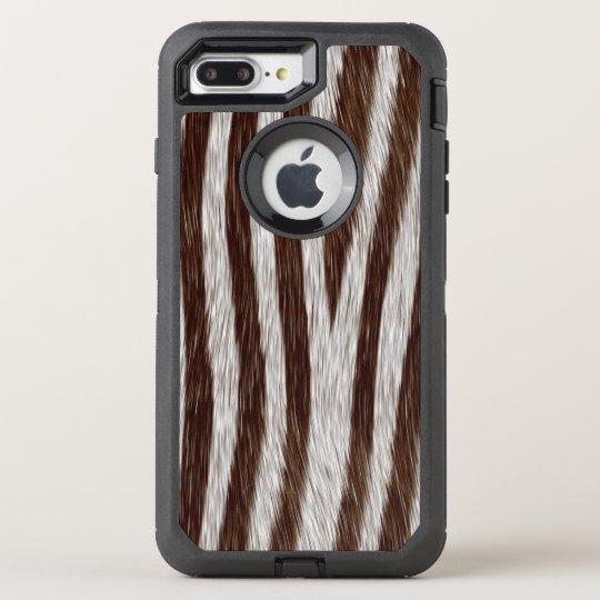 Faux zebra fur iPhone 7 plus OtterBox Defender iPhone 7 Plus Case