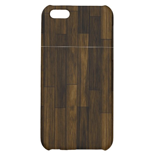 Fauxe Wood Cover For iPhone 5C