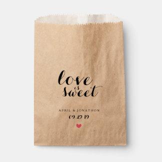 Favor Bag - Love is Sweet