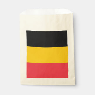 Favor bag with flag of Belgium