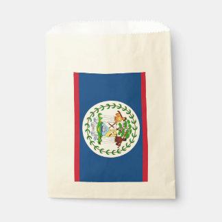 Favor bag with flag of Belize