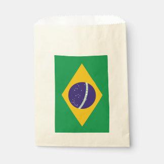 Favor bag with flag of Brazil