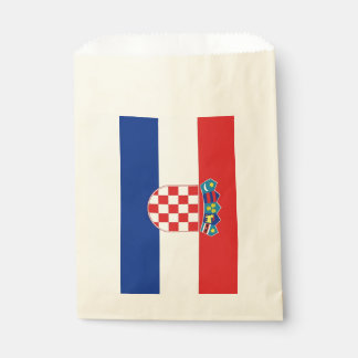 Favor bag with flag of Croatia